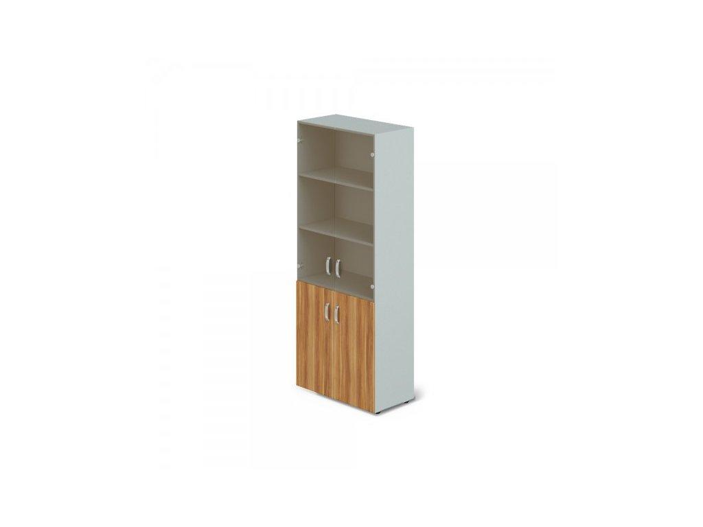 Vysoká skříň Manager 79,9 x 42,2 x 196,5 cm / Merano
