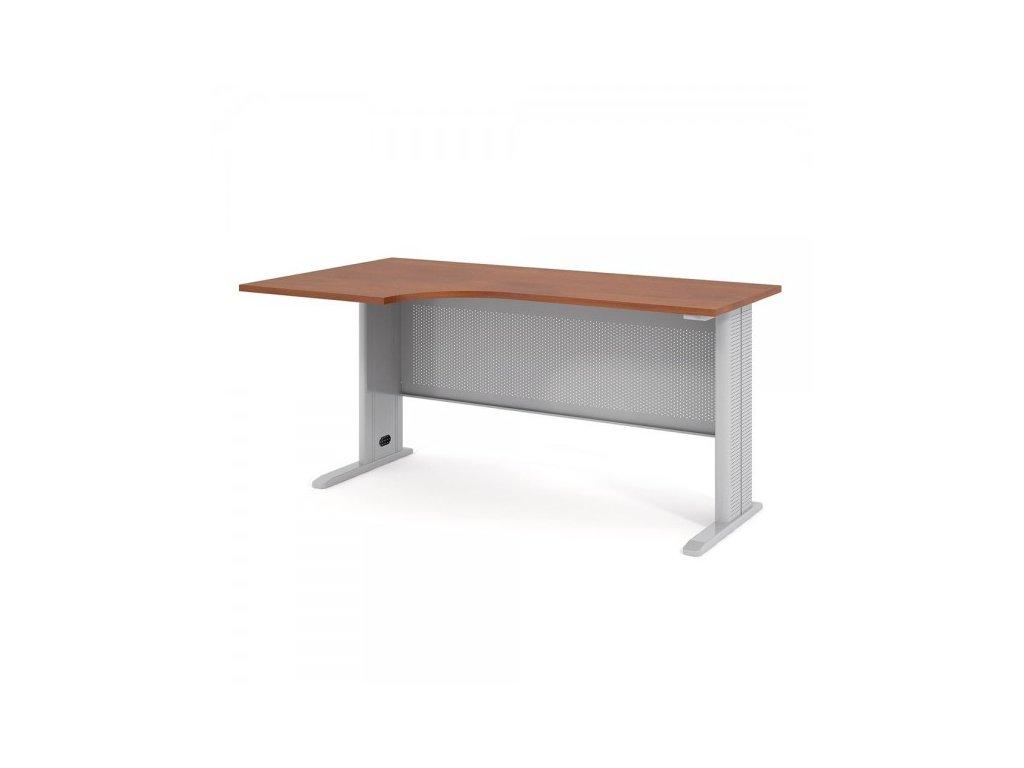 Ergonomický stůl Impress 160 x 90 cm, levý / Hruška