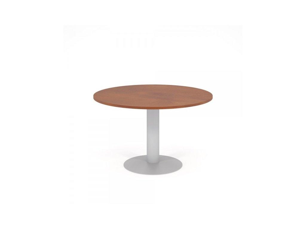 Konferenční stůl Impress d = 120 cm / Hruška