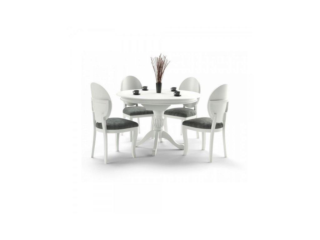 Jídelní stůl Williams / Bílá