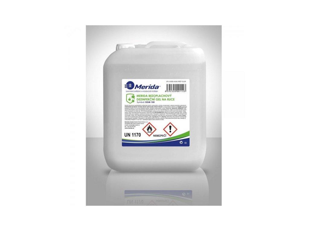 Bezoplachový dezinfekční gel 5 l