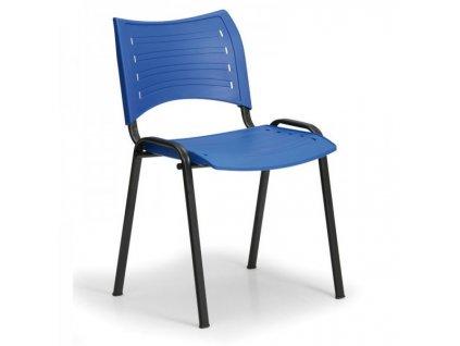 Plastová židle SMART - černé nohy