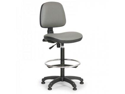 Pracovní židle Milano - s opěrným kruhem