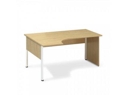 Ergonomický stůl ProOffice A 180 x 120 cm, levý / Hruška
