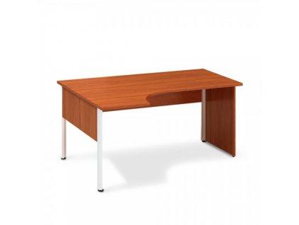 Ergonomický stůl ProOffice A 180 x 120 cm, levý / Třešeň