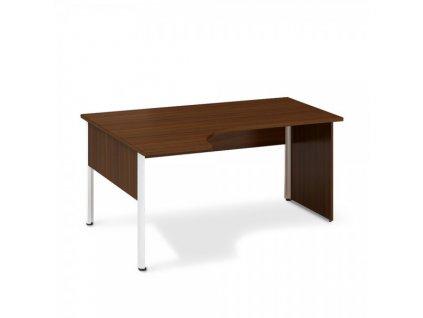 Ergonomický stůl ProOffice A 180 x 120 cm, levý / Ořech