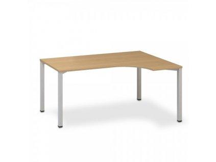 Ergonomický stůl ProOffice B 180 x 120 cm, pravý / Buk