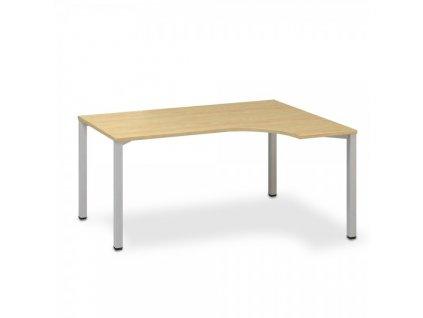 Ergonomický stůl ProOffice B 180 x 120 cm, pravý / Hruška