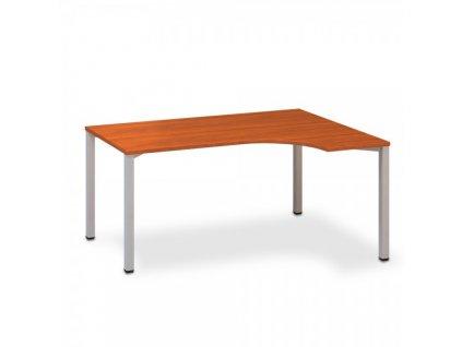 Ergonomický stůl ProOffice B 180 x 120 cm, pravý / Třešeň