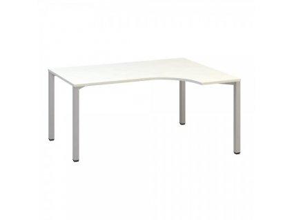 Ergonomický stůl ProOffice B 180 x 120 cm, pravý / Bílá