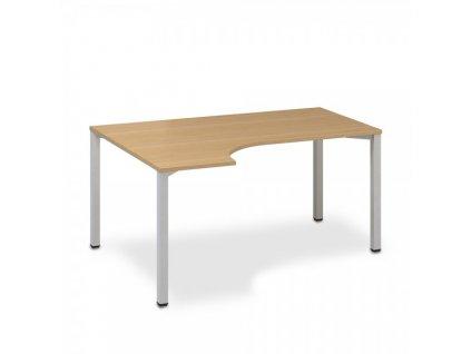 Ergonomický stůl ProOffice B 180 x 120 cm, levý / Buk