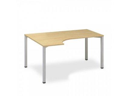 Ergonomický stůl ProOffice B 180 x 120 cm, levý / Hruška