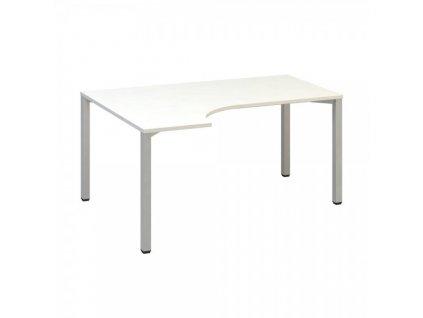 Ergonomický stůl ProOffice B 180 x 120 cm, levý / Bílá