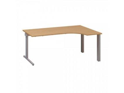 Ergonomický stůl ProOffice C 180 x 120 cm, pravý / Buk