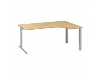 Ergonomický stůl ProOffice C 180 x 120 cm, pravý / Hruška