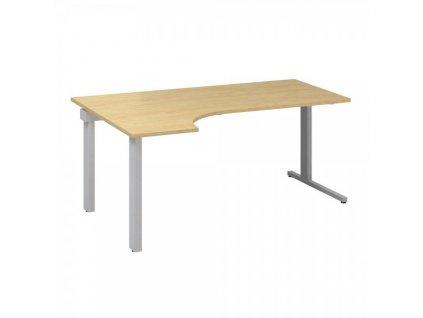 Ergonomický stůl ProOffice C 180 x 120 cm, levý / Hruška