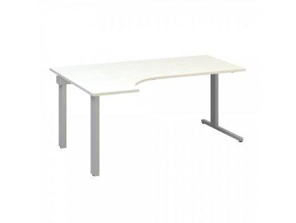 Ergonomický stůl ProOffice C 180 x 120 cm, levý / Bílá