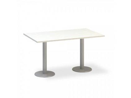 Jednací stůl ProOffice 140 x 80 cm / Bílá