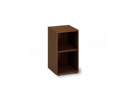 Nízká úzká skříň ProOffice 40 x 45 x 74,2 cm / Ořech