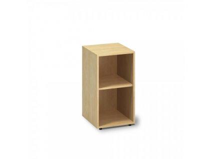 Nízká skříň ProOffice 40 x 45 x 73,5 cm / Hruška