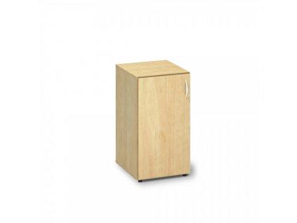 Nízká skříň ProOffice 40 x 47 x 74,2 cm, levá / Hruška