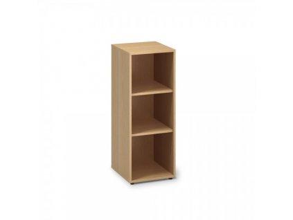 Střední úzká skříň ProOffice 40 x 45 x 106,3 cm / Buk