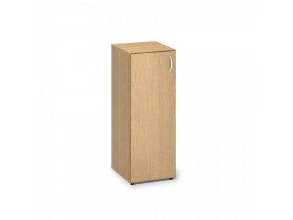 Střední úzká skříň ProOffice 40 x 47 x 106,3 cm, levá / Buk