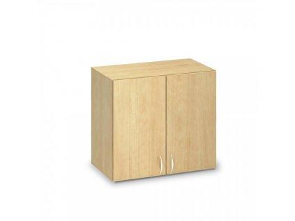 Nástavbová skříň ProOffice 80 x 47 x 71,7 cm / Hruška