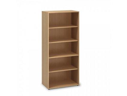 Vysoká skříň ProOffice 80 x 45 x 178 cm / Buk