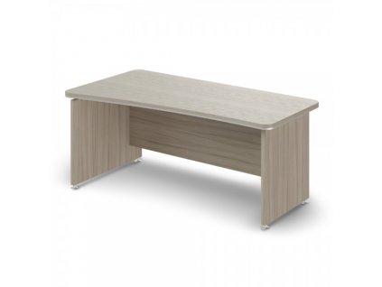 Ergonomický stůl TopOffice 180 x 94,8 cm, levý / Driftwood