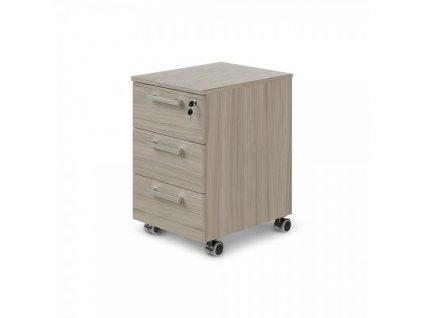 Mobilní kontejner TopOffice 40,8 x 50,4 cm / Driftwood