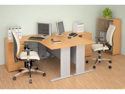Kancelářský nábytek sestava Impress 7 / Javor