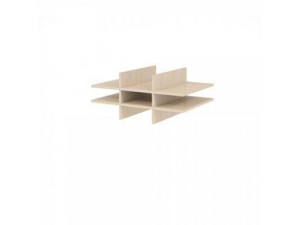 Nika (lístkovnice) pro skříň 80,4 x 60 cm / Javor