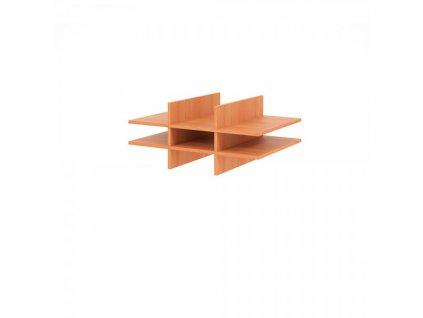 Nika (lístkovnice) pro skříň 80,4 x 60 cm / Hruška
