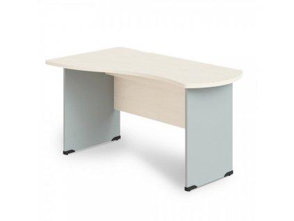 Rohový stůl Manager, levý 160 x 100  / Bříza
