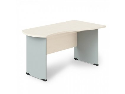 Rohový stůl Manager, pravý 180 x 120 cm / Bříza