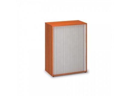 Střední žaluziová skříň ProOffice 80 x 45 x 106,3 cm / Třešeň