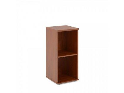 Nízká skříň Impress 37 x 37 x 80 cm / Tmavý ořech