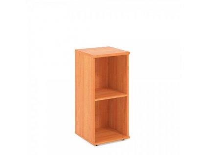 Nízká skříň Impress 37 x 37 x 80 cm / Hruška