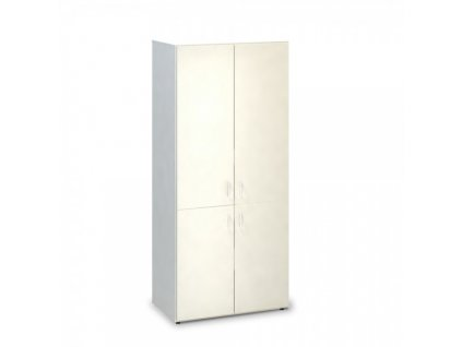 Vysoká skříň ProOffice 80 x 47 x 178 cm / Bílá