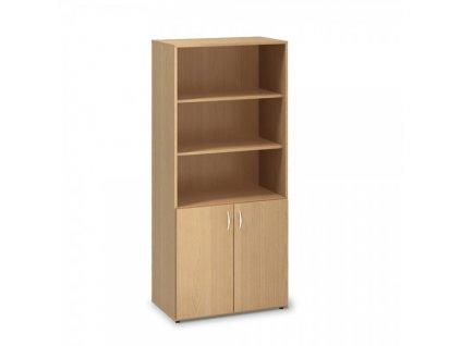 Vysoká skříň ProOffice 80 x 47 x 178 cm / Buk