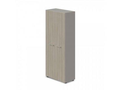 Šatní skříň TopOffice 79,8 x 40,4 x 196,5 cm