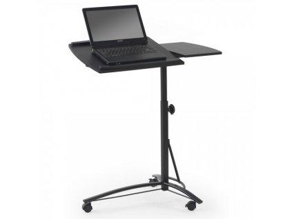 Notebook stolek Mark / Černá