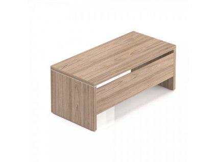 Stůl Lineart 180 x 85 cm + krycí panel / Jilm světlý