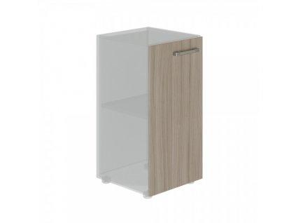 Dveře na skříň TopOffice 39,9 x 40,4 x 80 cm, levé / Driftwood
