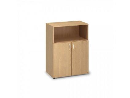 Střední skříň ProOffice 80 x 47 x 106,3 cm / Buk
