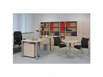 Kancelářský nábytek sestava ProOffice 3 / Ořech