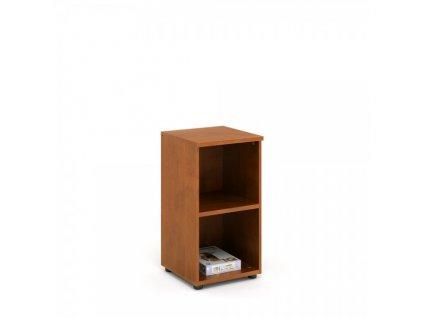 Nízká skříň Praktik 40 x 40 x 76,5 cm / Tmavý ořech