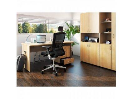 Kancelářský nábytek sestava ProOffice 4 / Třešeň