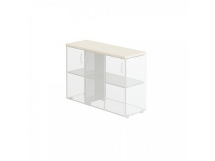 Obkladová deska Manager pro širokou skříň + úzkou skříň / Bříza